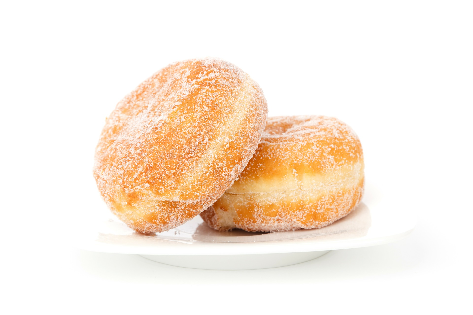 Sugar covered donuts